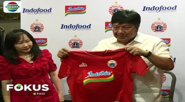 Kerja sama antara Indofood dan Persija Jakarta akan berlangung selama 2 tahun.