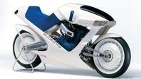 Motor konsep Suzuki bernama Falcorustyco pertama kali diperkenalkan pada 1985. Sayangnya model ini tak jadi diproduksi massal (Foto: cycleworld.com).