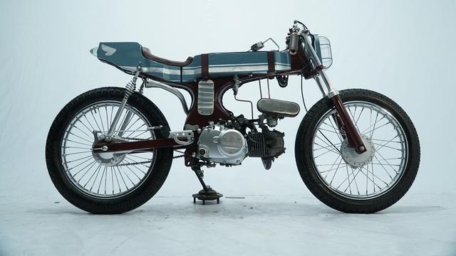 Hasil gambar untuk modifikasi motor bebek