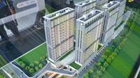 Hunian berkonsep TOD merupakan salah satu solusi terhadap isu kemacetan di kota besar. Dok PUPR