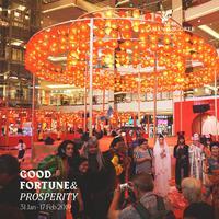 Good Fortune and Prosperity, meriahnya perayaan Imlek di Mall Taman Anggrek. Sumber foto: PR.