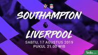Premier League - Southampton Vs Liverpool (Bola.com/Adreanus Titus)