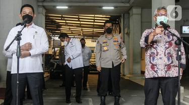 Bahas Keamanan Pilkada Serentak, Kepala Bareskrim Mabes Polri Sambangi KPU