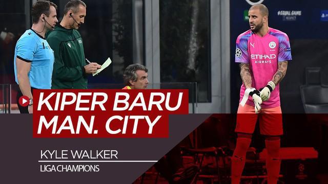 Berita video bek Kyle Walker sukses menjalankan peran mendadaknya sebagai kiper Manchester City pada matchday 4 Liga Champions 2019-2020.