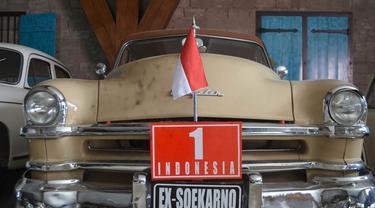 Mobil Presiden RI pertama, Soekarno, yakni seri Chrysler Winsor Deluxe produksi 1952. (Istimewa)