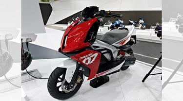 Motor konsep listrik TVS Motor (IamBiker)