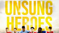 Premier League - Unsung Heroes: Scott McTominay, Pierre-Emile Hojbjerg, Joao Cancelo, Curtis Jones, Kurt Zouma, Kieran Tierney (Bola.com/Adreanus Titus)
