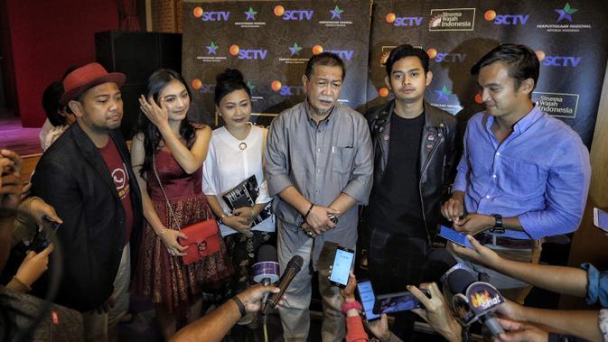 Jumpa pers program istimewa SCTV (Liputan6.com/ Faizal Fanani)