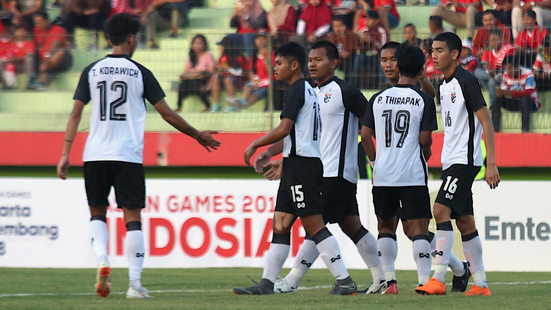 Timnas Thailand U-19 yang berlaga di Piala AFF U-19 2018. (Bola.com/Aditya Wany)