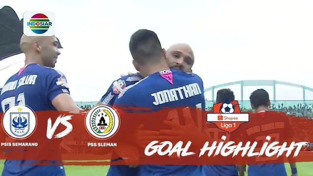 Berita Video Highlights Shopee Liga 1 2019, PSIS Semarang Vs PSS Sleman 3-0