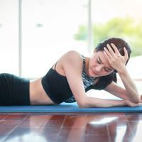 Agar tidak pening saat yoga./Copyright shutterstock.com/g/feelinglucky