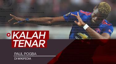 Berita video data yang menunjukkan Paul Pogba bukanlah pemain Premier League yang paling sering dicari di laman ensiklopedia, Wikipedia. Lalu, siapa yang paling tenar?