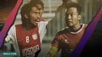 Syamsul Chaeruddin dan Hamka Hamzah. (Bola.com/Dody Iryawan)