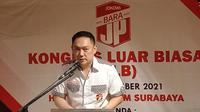 Arek Surabaya, Gianto Wijaya terpilih sebagai Ketua Umum (Ketum) Barisan Relawan Jokowi Presiden/Barisan Relawan Jalan Perubahan (Bara JP) periode 2021-2024