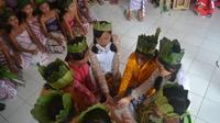 Pemerintah Desa Dermaji berupaya melindungi budaya yang berkembang, baik budaya Sunda maupun Jawa. (Foto: Liputan6.com/Muhamad Ridlo)