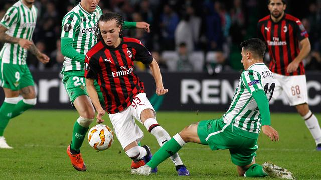 Gol Suso Selamatkan AC Milan dari Kekalahan Atas Real Betis