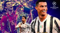 Liga Champions - Aksi Cristiano Ronaldo di Liga Champions (Bola.com/Adreanus Titus)