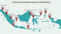 Kawasan Ekonomi Khusus Indonesia (Ilustrasi: kek.go.id)