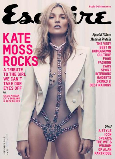 Kate Moss, Esquire
