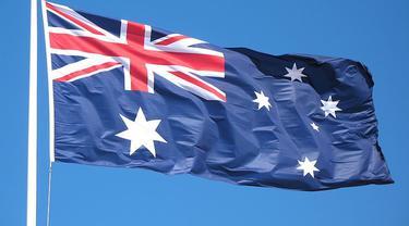 Bendera negara Australia - AFP