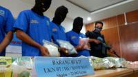 Pengedar sabu jaringan Malaysia yang pernah ditangkap BNN di Provinsi Riau. (Liputan6.com/M Syukur)