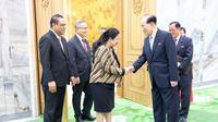 Menteri Koordinator Bidang Pembangunan Manusia dan Kebudayaan (Menko PMK) Puan Maharani selaku Utusan Khusus Presiden Republik Indonesia/Special Envoy