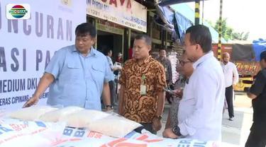 Mengantisipasi lonjakan harga beras jelang akhir tahun, pemerintah, mulai hari ini menggelar operasi pasar beras di Pasar Induk Cipinang, Jaktim.