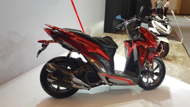 Krom Berwarna Bikin All New Honda Vario 150 Tampil Mewah