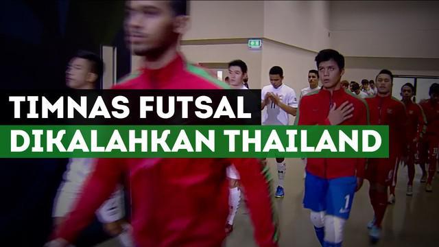 Berita video tentang kekalahan Timnas Indonesia vs Thailand di perempat final Piala Asia Futsal U-20 2017.