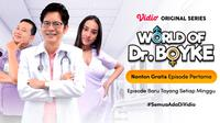 Vidio original series World of Dr. Boyke, hadirkan serial edukasi seks berbalut komedi. (Sumber: Vidio)