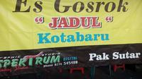 Es Gosrok Jadul Kotabaru (Yanuar H/Liputan6.com)