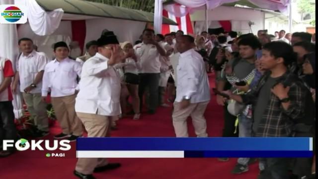 Prabowo belum memastikan dirinya akan bertarung dalam Pilpres 2019 atau tidak.