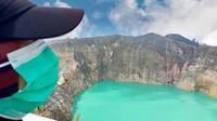 Taman Nasional Kelimutu resmi dibuka kembali dan ada aturan yang perlu dipatuhi (dok.instagram/@btn_kelimutu/https://www.instagram.com/p/CSSyTMNplye/Komarudin)