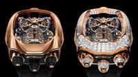 Jam Tangan Bugatti Chiron Tourbillon (Carscoops)