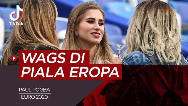 Berita video TikTok Bola.com tentang deretan WAGs cantik yang bakal jadi pemanis di Euro 2020, salah satunya ialah istri Paul Pogba.
