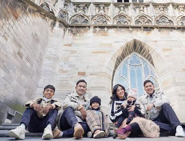FOTO: Gaya Liburan Ruben Onsu dan Keluarga di Italia, Tampil Stylish