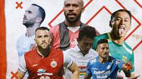 Liga 1 - Trivia Barisan Striker yang Bakal Meramaikan Liga 1 2021 (Bola.com/Adreanus TItus)