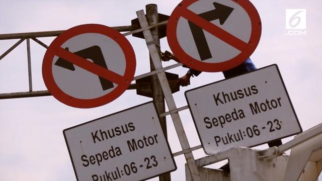 Mahkamah Agung resmi mencabut larangan sepeda motor melintas di jalan MH Thamrin.