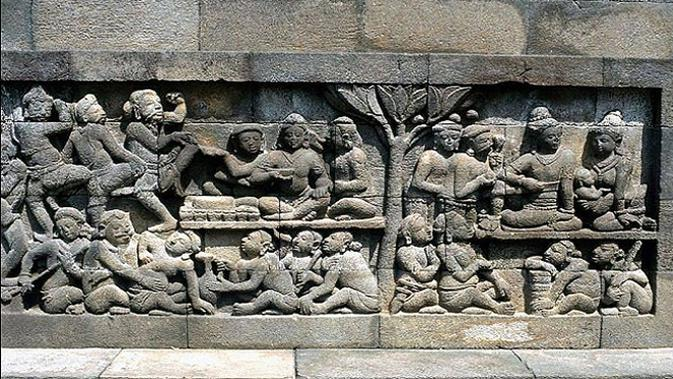 Misteri Relief Kamadhatu di Kaki Candi Borobudur