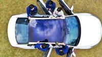 Di masa depan mobil Hyundai menggunakan solar panel (Paultan)