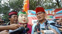 Wakil Gubernur DKI Sandiaga Uno. (Liputan6.com/Lady Farisco)