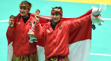 Pasangan pesilat Indonesia, Ayu Sidan Wilantari dan Ni Made Dwiyanti