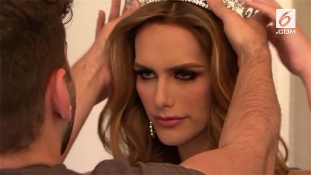 Angela Ponce akan menjadi transgender pertama yang mengikuti ajang Miss Universe.