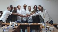 Penandatanganan kerjasama Pendanaan Non Cash Loan (SKBDN dan L/C) antara PT Industri Sandang Nusantara dengan PT Bank Mandiri Tbk dan PT Asuransi Jasa Indonesia. (Dok Kementerian BUMN)