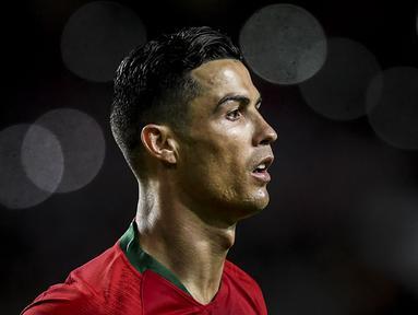 Berikut lima daftar rekor baru yang dapat dipecahkan oleh ronaldo di pagelaran akbar Euro 2020 (Euro 2021). (Foto: AFP/Patricia De Melo Moreira)