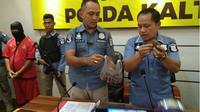 Polisi gagalkan perdagangan ilegal sisik trenggiling senilai puluhan juta. (Liputan6.com/Rajana K)