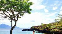 Foto: Objek wisata pasir merah di Kecamatan Tanah Boleng, Kecamatan Adonara, Flores Timur, NTT (Aloysius Lewokeda)