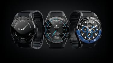Jam tangan pintar Bugatti (Carscoops)