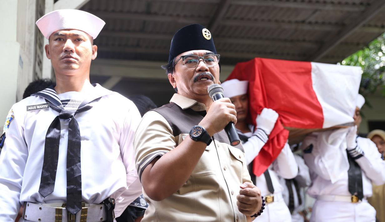 Aktor senior yang namanya melejit berkat perannya sebagai Presiden Soeharto dalam film Penumpasan Pengkhianatan G 30 S PKI (1984) menghembuskan napas terakhirnya pada Selasa (17/4/2018). (Adrian Putra/Bintang.com)