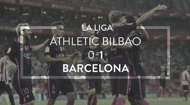 Video highlights La Liga Spanyol antara Athletic Bilbao melawan Barcelona yang berakhir dengan skor 0-1, Senin (29/8/2016) dini hari WIB.